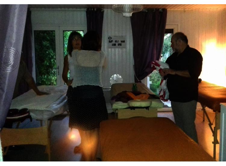 soirée échange massage relaxant californien