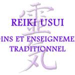 soins enseignement et formation Reiki Usui