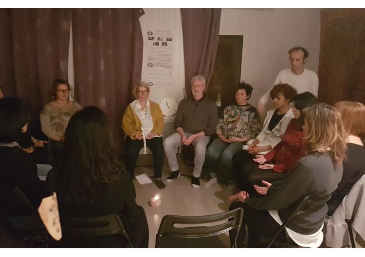 benediction Reiki usui de groupe PACA Bouches du Rhône
