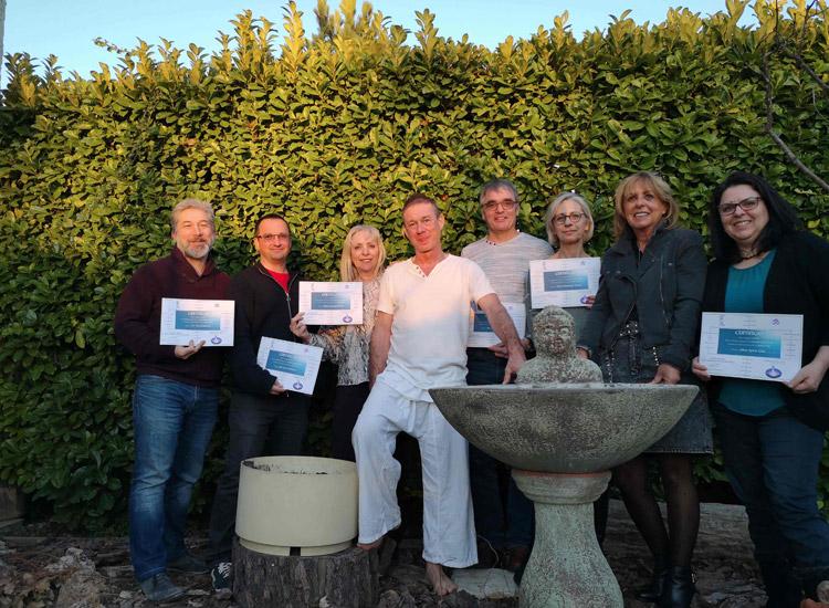 certificat Reiki Usui 1er degre shoden Salon de provence Aix en provence Lambesc PACA Bouches du Rhone